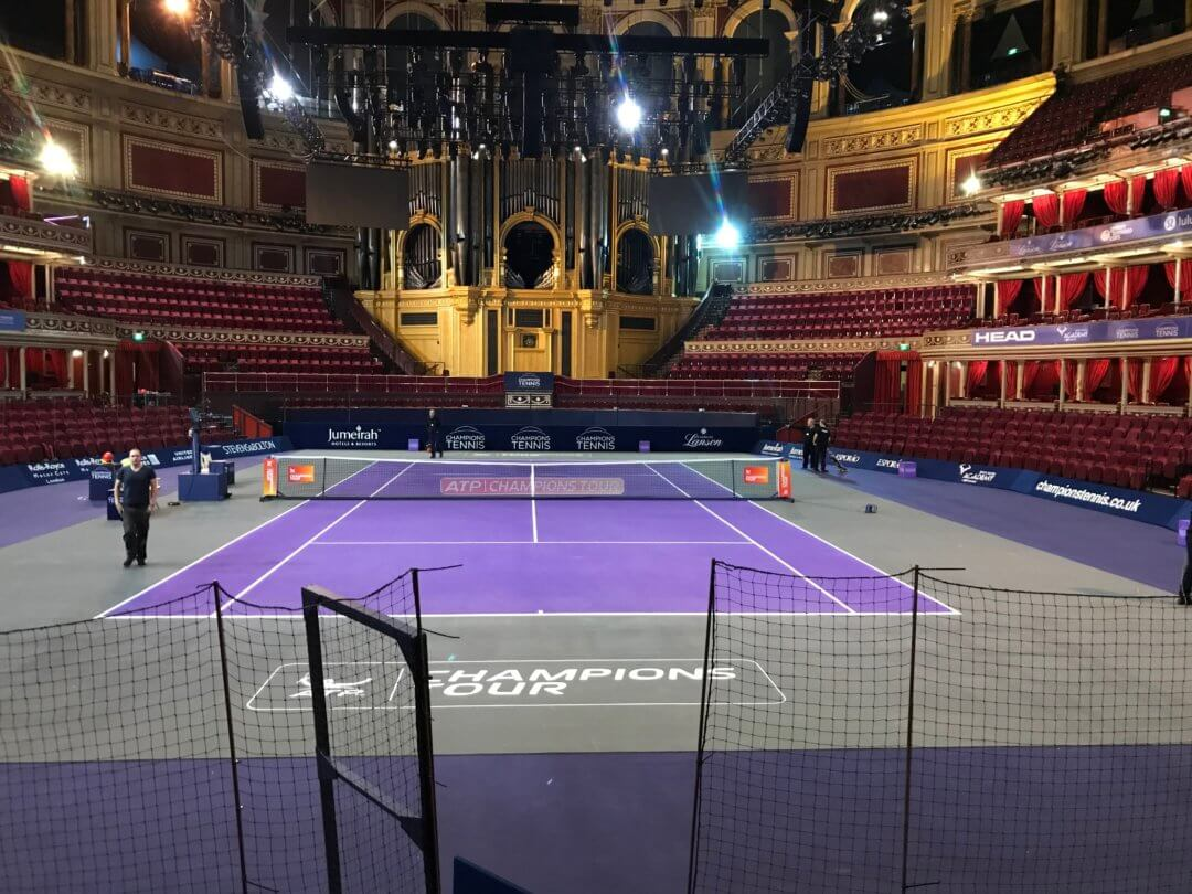 Champion tennis Masters at the Albert Hall