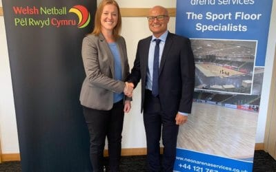 NEON ARENA SERVICES BECOMES OFFICIAL FLOORING PARTNER TO WELSH NETBALL